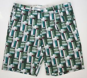 """NWT Authentic BRIONI Italy Cotton Pleated BERMUDA Dress Shorts IT-52 W-34"""""""