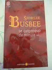 AVENTURES ET PASSIONS 2930 - SHIRLEE BUSBEE - LE QUIPROQUO DE MINUIT