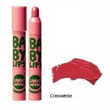 New!! MAYBELLINE  Baby Lips Candy Wow CINNAMON Sweet Moisturizing Lip Balm 2 g.