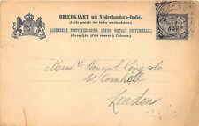 Nederlandsch -Indie Surabaya Postal Card