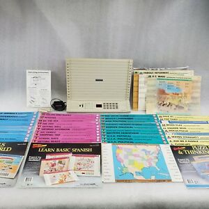 Vintage GeoSafari EI-8700 Electronic Learning System with 41 Cards works great