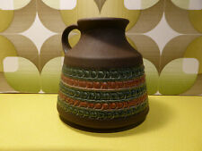 Vintage Retro West German Dumler & Breiden Vase Jug 356 15 Mid Century Fat Lava