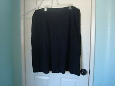 Avenue Black BoHo Skirt 5 Tiered Style Cotton Knit Plus Size 22/24 NWT