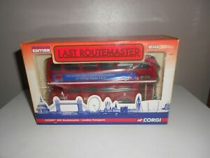 Last RouteMaster Corgi 1:50 Scale Limited Edition CC25907 AEC LONDON TRANSPORT.