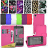 For HTC Desire 530 - Wallet Leather Case Flip Cover +  Screen Protector & Stylus