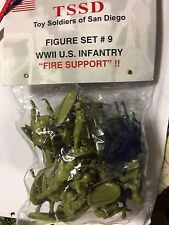 1/32 TSSD WW2 U.S. Infantry fire Support Mortars Heavy Machine Guns 54mm