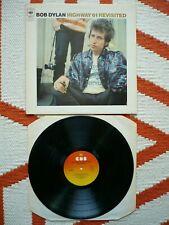 Bob Dylan Highway 61 Revisited Vinyl UK CBS Sunburst A2/B2 Matrix LP EXC++