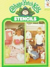 Cabbage Patch Kids At Play Stencil Sheets 26605 Unopened 1984 Vintage Decor