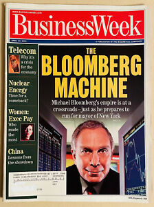 Business Week Magazine April 23, 2001 Mayor Michael Bloomberg Telecom China