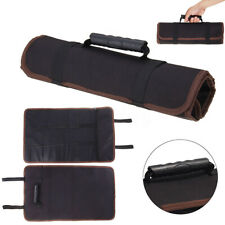 14 Pockets Chef Knife bag Carry Case Roll With Handles Kitchen Portable
