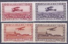 Colonies françaises - Sarre - Pa n° 1 à 4*