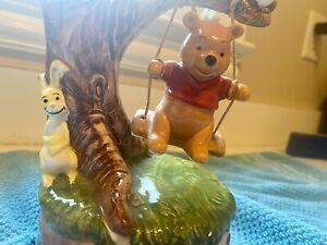 Disney Winnie The Pooh Rabbit Owl  Music Box