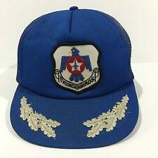 Vintage Thunderbird Texas Civil Air Patrol TX-179 CAP Hat Jet Military Air Force