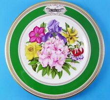 Premier Issue Royal Doulton Rhs Chelsea Flower Show Plate 1981