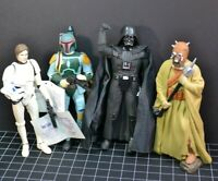 "STAR WARS Classic Collector Series Lot of 4 Boba Fett Vader 10""  APPLAUSE 95"