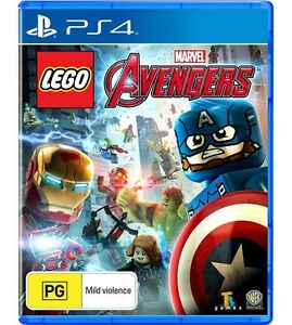 Lego avengers for ps4 game adventure Playstation new au kids