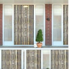 Kingfisher Bamboo Effect Curtain Blinds Wooden Beaded Insects Fly Door Screen