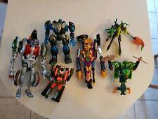Beast Machines lot optimus primal rattrap thrust buzzsaw scavenger obsidian