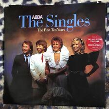 ABBA - The Singles The First 10 - 1982 Vinyl 2LP - Epic ABBA10 A1/B1 1st - Ex/Ex