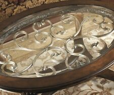 Ashley Furniture Oval Wooden Coffee Table