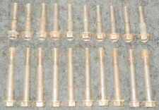 1969 1970 Ford Mustang Shelby Mach 1 Torino Cougar ORIG 351W CYLINDER HEAD BOLTS