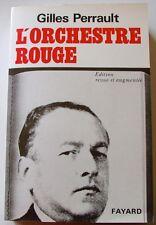 L'ORCHESTRE ROUGE – Gilles Perrault   (éd. Fayard)