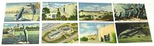 1930's 1940's Linen Postcard lot, 8 postcards, Marine Studios Florida Marineland