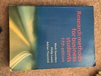 Research Methods for Business Students by Mark N. K. Saunders, etc. (Paperback,