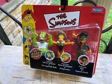 2002 Mip Simpsons Homer Ingestible Bulk Vampiredna Captain Kwik (s11)