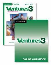 Ventures Level 3 Digital Value Pack (Student's Book with Audio CD and Online Wor