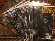 Gotham Underground 2007 Lot of 8 DC Comics #1 3 4 5 6 7 8 9 Nightwing Oracle