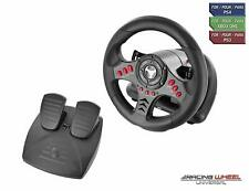 Gaming Steering Wheel Pedals For PS4 Xbox One Driving Racing Simulator Kids Gift
