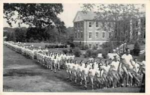 Athens Georgia Navy Pre-Flight School Marching Vintage Postcard AA5206