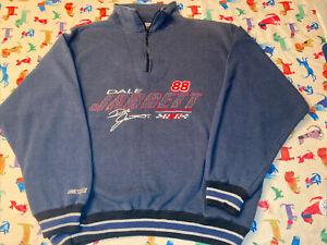 Vintage NASCAR #88 Dale Jarrett 1/4 Zip Pullover Chase Authentics Size Medium