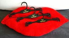 Set of 3 Versace 19V69 ITALIA Lingerie Hangers for Bra/Panties Swimwear or Scarf