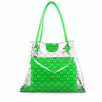 VALENTINO BY MARIO VALENTINO LADIES BEACH BAG - AUROR - LIME