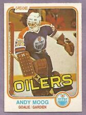 1981-82 OPC Andy Moog Rookie Edmonton Oilers #120