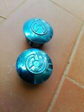 NOS Cinelli Handlebar Plugs bartape Caps, blue, Tappi Manubrio Cinelli, blu