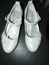 Weiße Kommunion Schuhe Graceland (Deichmann)