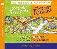 The 65-Storey  78-Storey Treehouse CD Set