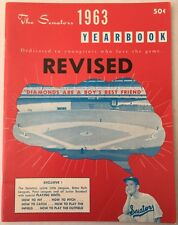 1963 Washington Senators Baseball Yearbook Revised