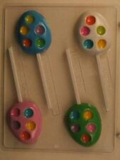 Easter Chocolate Mould - Easter Egg with Candy Cavity on Stick