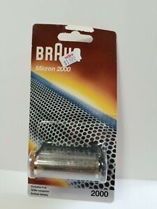 NIP Braun 2000 Series Shaver Foil Replacement Part 2000 2005 2101 2500 2505 2501