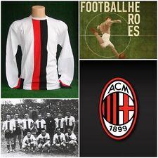 MAGLIA CALCIO MILAN 1940 SHIRT FOOTBALL MAILLOT TRIKOT VINTAGE RETRO JERSEY OLD