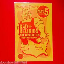 Bad Religion 2003 Original 11x17 Offset Concert Poster. Portland Or. Mint.