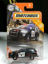 2020 MATCHBOX 2016 FORD INTERCEPTOR UTILITY HIGHWAY PATROL POLICE - P6