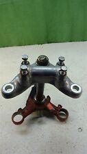 1966 honda cl77 305 scrambler H1220~ triple tree fork clamp w damper bar clamps