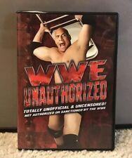 WWE UNAUTHORIZED DVD