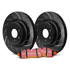 For Chevy Silverado 2500 HD 01-07 Brake Kit EBC Stage 8 Super Truck Dimpled &