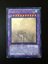 YU-GI-OH! DRAGON KNIGHT DRACO-EQUISTE GHOST RARE DREV-EN038 1ST EDITION ENGLISH